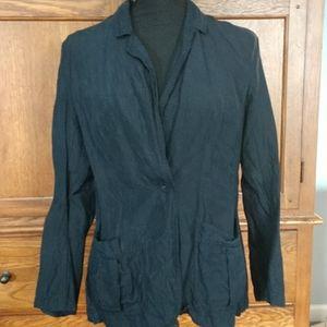 Dark Navy J.Jill jacket, size small